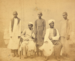 Lubbay's students of the Free Church Mission School, Madras